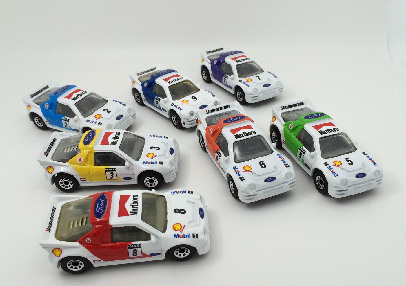 【BK】MATCHBOX  Ford Rs200 彩虹战队